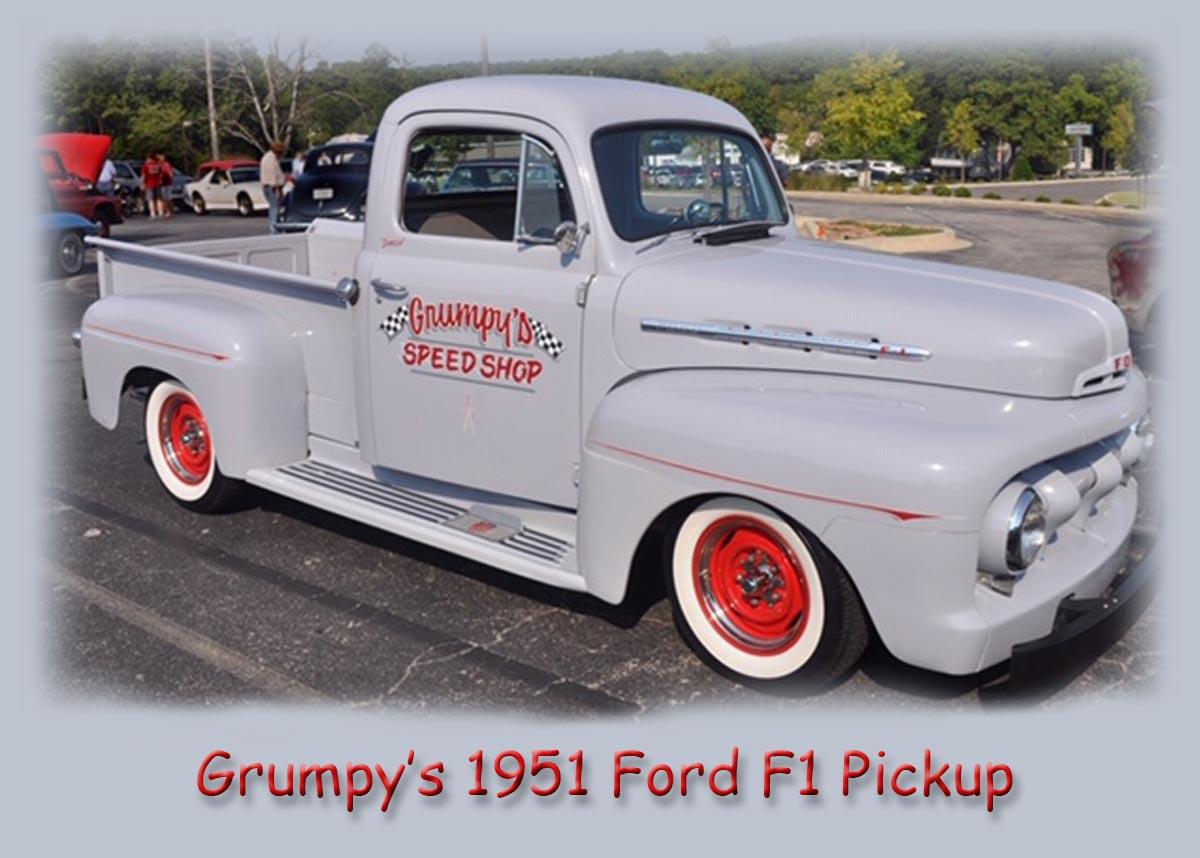 Grumpy's 1951 Ford F1 Pickup